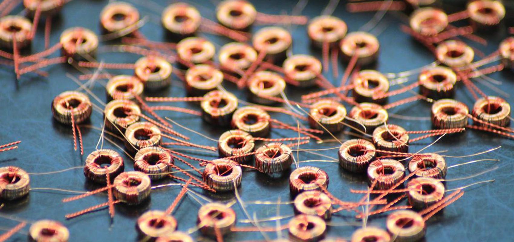 Kleine Ringkernspulen - Müller Spulen