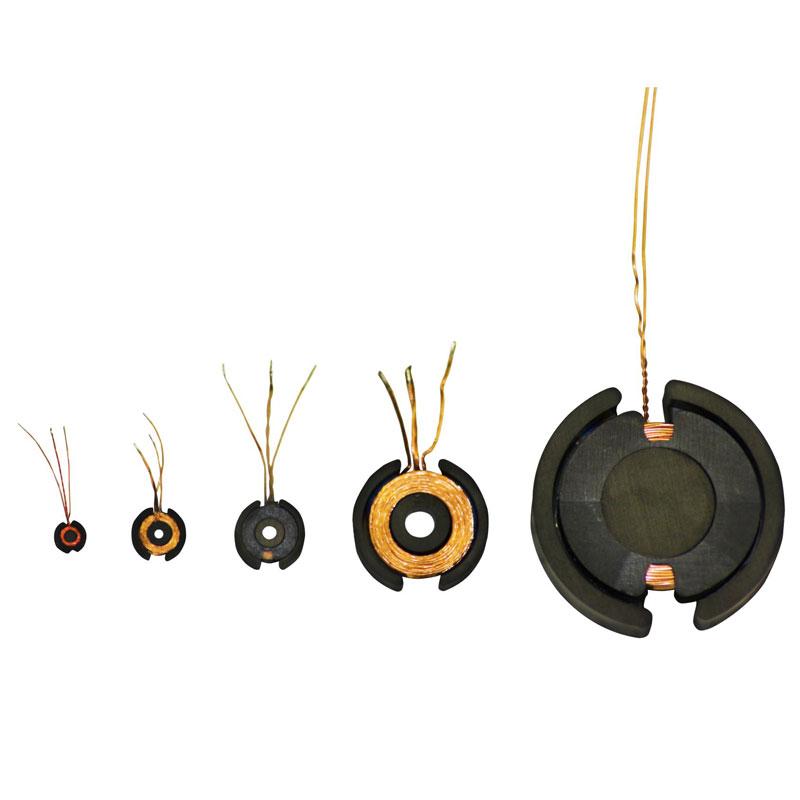 Kleine oder große Sensorspulen - Müller Spulen