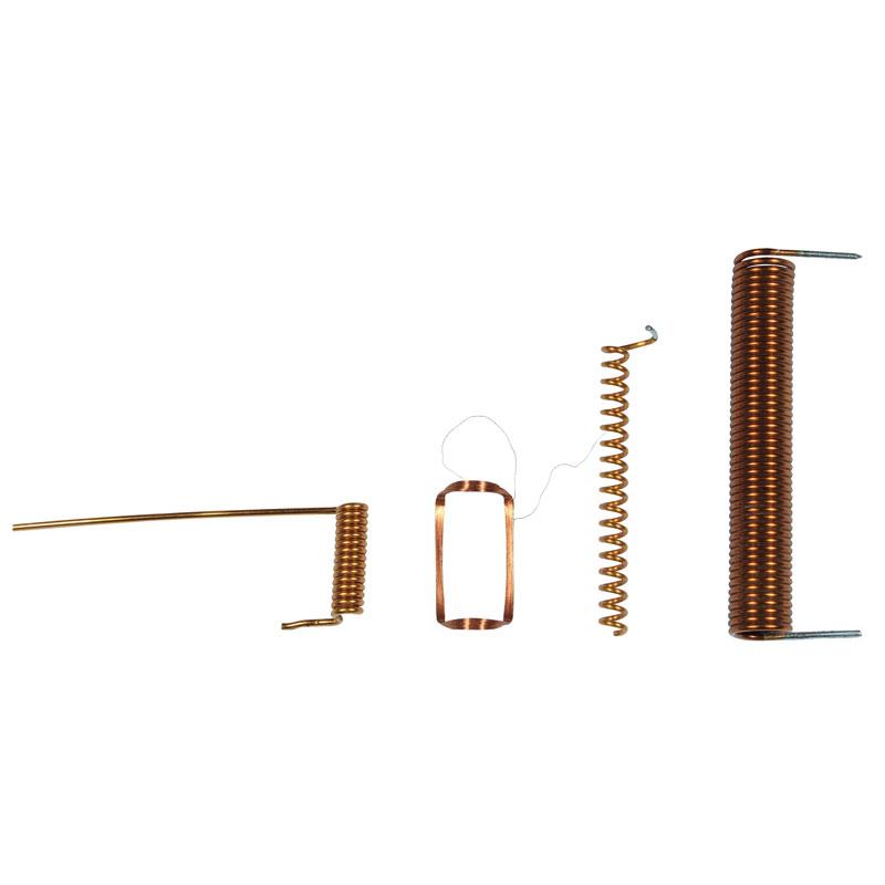 Sprungfeder zur Herstellung von Antennenspulen