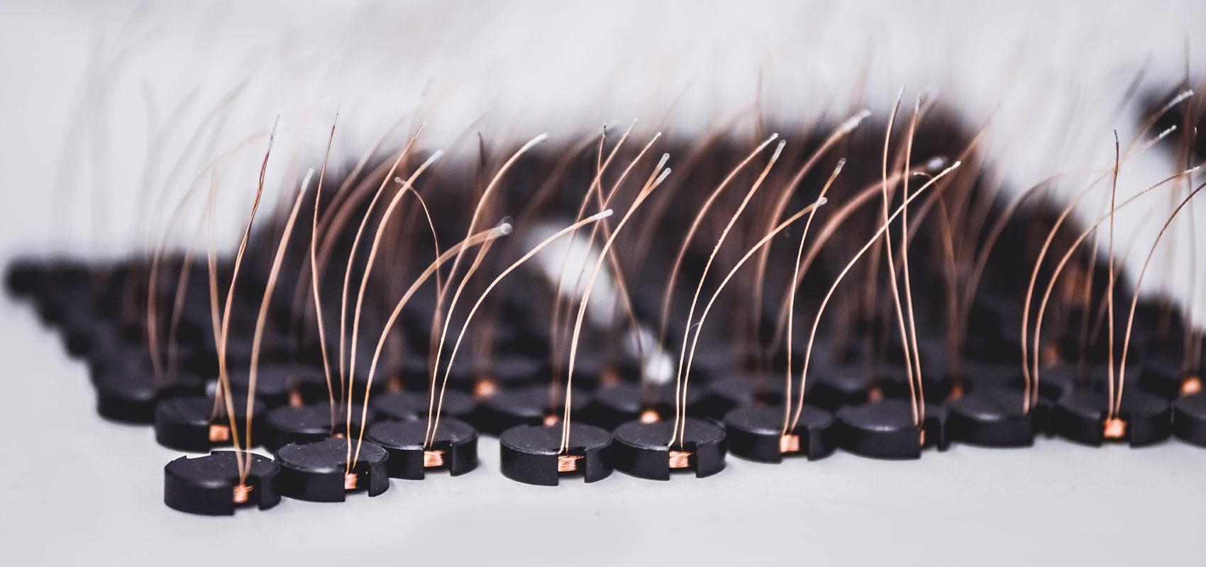 Verschiedene Sensorspulen - Müller Spulen