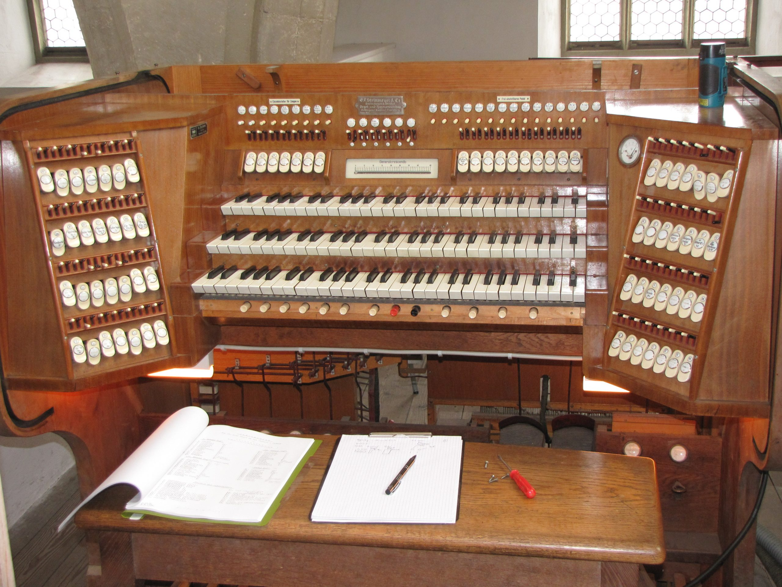 Historische Orgel